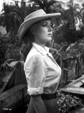 Eleanor Parker on a Hat Photo af Movie Star News