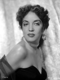 Katy Jurado wearing Black Gown Side View Pose Photo by  Movie Star News