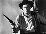 James Arness Posed in Cowboy Suit With Pistol Photo by  Movie Star News