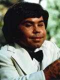 Herve Villechaize Portrait in White Tuxedo Photo by  Movie Star News