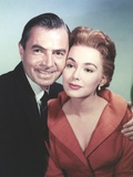 James Mason in Couple Portrait Photo by  Movie Star News