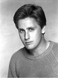 Emilio Estevez Portrait in Sweater Photo by  Movie Star News