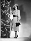 Gracie Allen wearing Dress with Hat Photo by  Movie Star News
