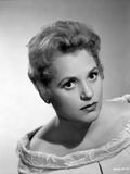Judy Holliday on an Embroidered Off Shoulder Top Portrait Photo by  Movie Star News