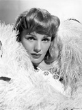 Frances Farmer Surrounded a Thick Furry Shawl Portrait Photo by  Movie Star News