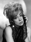 Edie Adams Leaning Chin on Hand in Classic Photo by  Movie Star News