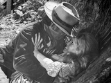 Hombre Abusing in The Forest Photo by  Movie Star News