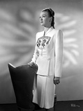 Eve Arden on Long Sleeve Top standing Looking Up Portrait Photo by  Movie Star News