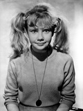 Hayley Mills wearing a Turtle Neck Long Sleeve Sweater with Necklace Photo by  Movie Star News