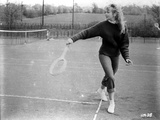 Hayley Mills Playing Tennis in Classic Portrait Photo by  Movie Star News