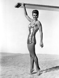 Esther Williams smiling in Bikini Photo by  Movie Star News