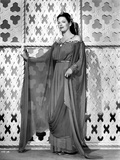 Gale Sondergaard Posed in Dress Photo by  Movie Star News