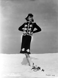 Ida Lupino on a Long Sleeve with Hands on Waist Photo by  Movie Star News