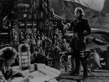 Errol Flynn Movie Scene on a Ship Photo by  Movie Star News