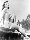 Esther Williams Seated in Classic Photo by  Movie Star News