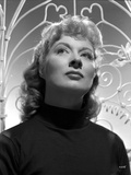 Greer Garson on a Dark Turtle Neck Portrait Photo by  Movie Star News