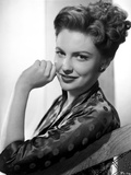 Joan Leslie Silk Long Sleeve Leaning and smiling Photo by  Movie Star News