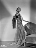 Ida Lupino on a Silk Dress and Hand on Waist Photo by  Movie Star News