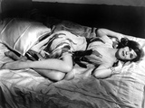 Geraldine Page Lying in Classic Photo by  Movie Star News