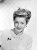 Esther Williams Portrait in Black and White with Corsage Photo by  Movie Star News