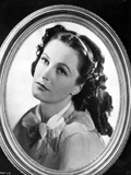 Geraldine Fitzgerald Looking Away in a Frame Photo by  Movie Star News