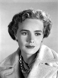 Frances Farmer with a Straight Face in Coat Photo by  Movie Star News