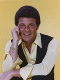 Frankie Avalon in Yellow Shirt and Black Vest Photo by  Movie Star News