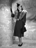 Gracie Allen wearing Black Gown with Black Hat Portrait Photo by  Movie Star News
