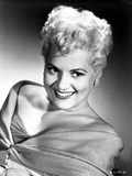 Judy Holliday smiling and Leaning Portrait Photo by  Movie Star News
