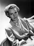 Frances Farmer on Long Sleeve Top Portrait Photo by  Movie Star News