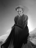 Frances Farmer Seated with Long Dress Photo by  Movie Star News