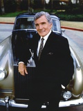 Gene Barry in Black Suit Photo by  Movie Star News