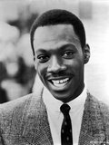 Eddie Murphy in Black and White Portrait Photo by  Movie Star News