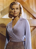 Honor Blackman Posed in Sexy Dress Photo by  Movie Star News