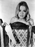 Hayley Mills Topless Covered with Divider Photo by  Movie Star News