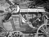 Hombre Group Of People Riding a Horse in Black and White Photo by  Movie Star News