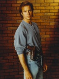 Jeff Fahey standing in Blue Sweater Photo by  Movie Star News