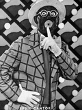 Eddie Cantor Posed in checkered Suit Photo by  Movie Star News