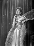 Helen Morgan in a Silk Dress on Stage Photo by  Movie Star News