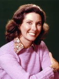Elinor Donahue Black Background Portrait Photo by  Movie Star News