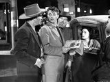 Faith Domergue Group Picture in Classic Photo by  Movie Star News