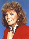 Eileen Brennan posed in Red Sweater Photo by  Movie Star News