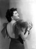 Helen Morgan on a Backless Gown Photo by  Movie Star News