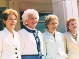 Group Picture With Nancy Reagan Photo by  Movie Star News