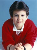 Fred Savage in Red Vest Portrait Photo by  Movie Star News