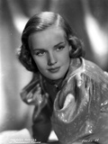 Frances Farmer on Side Top Side View Portrait Photo by  Movie Star News