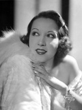 Ethel Merman Portrait in Classic with Feather Coat Photo by  Movie Star News