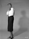 Eve Arden on Long Sleeve Top Side View Thinking Photo by  Movie Star News