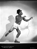 Eddie Anderson in White Brief With Bow and Arrow Photo by  Movie Star News