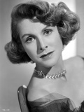 Frances Dee posed in Portrait in Black and White Photo by  Movie Star News